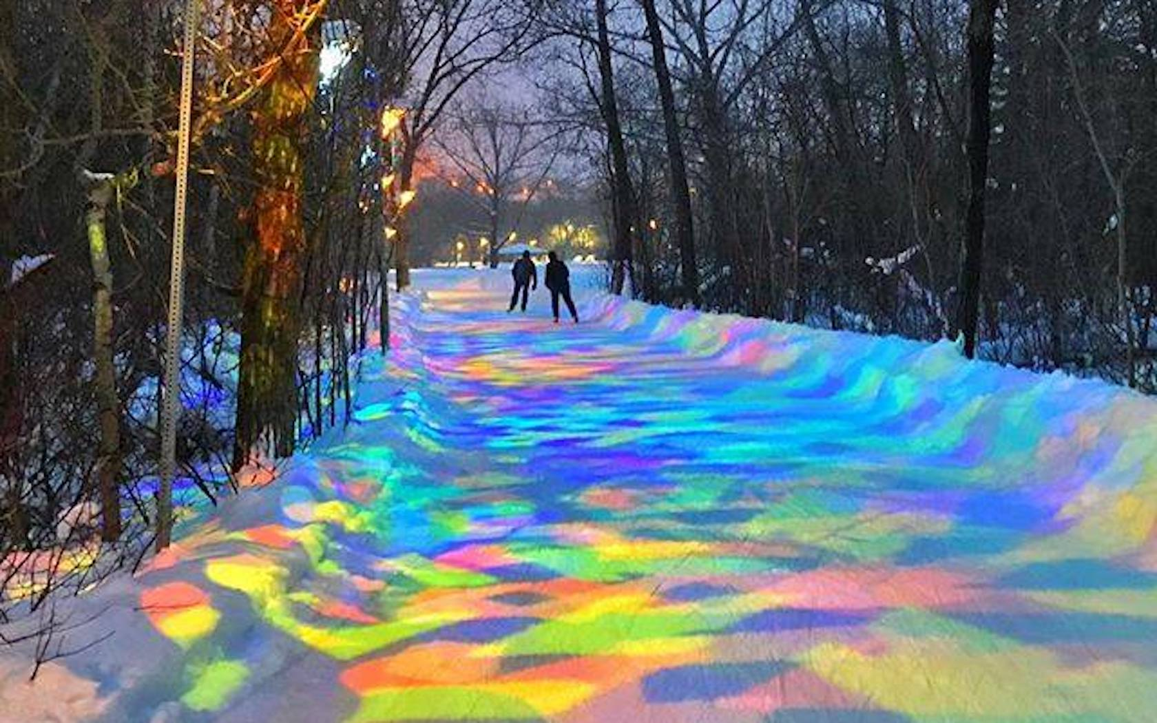You Just Have To Visit This Magical Outdoor Skating Rink ...